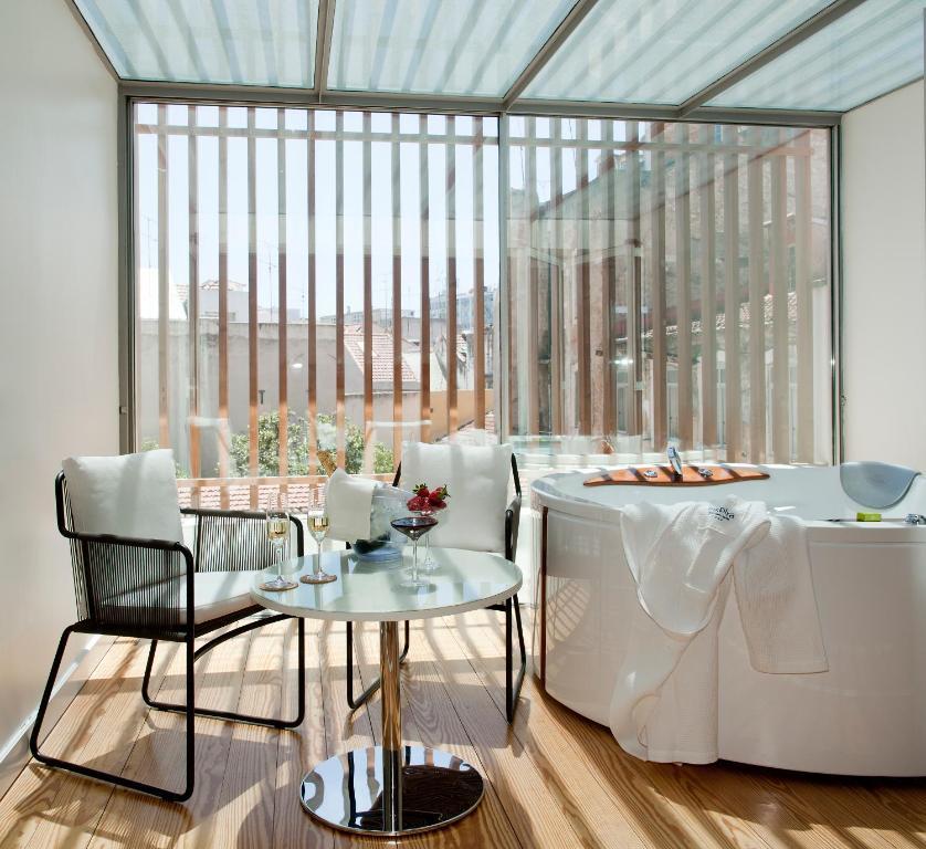 Restauracja lub miejsce do jedzenia w obiekcie Inspira Santa Marta Hotel & Spa