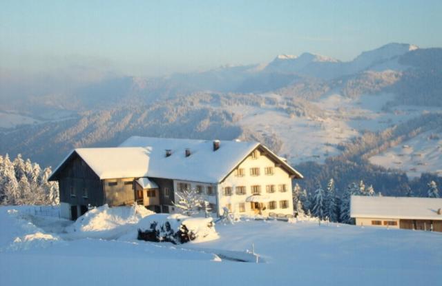 Haus Dreiländerblick im Winter