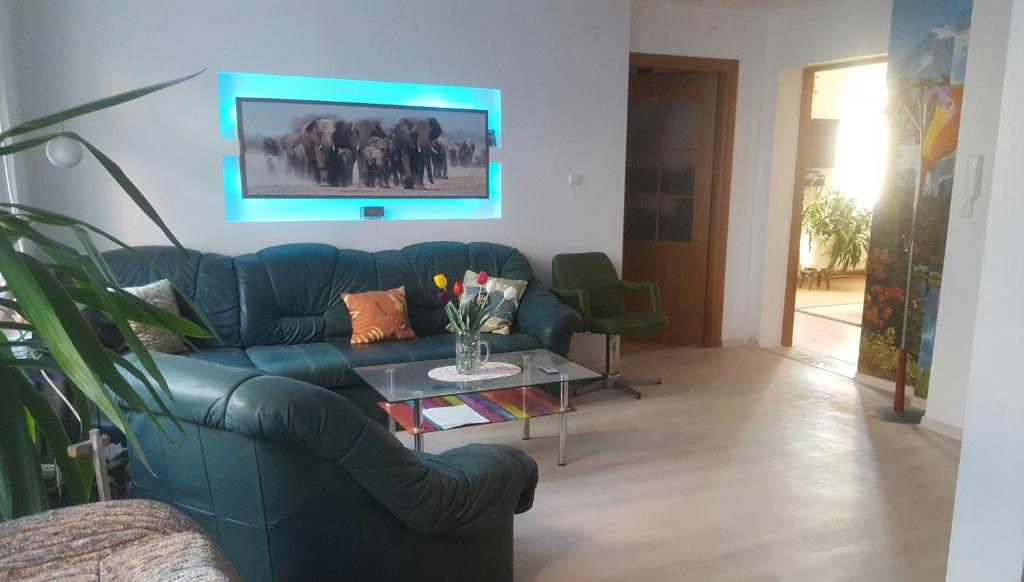 The lounge or bar area at Marynarki Polskiej