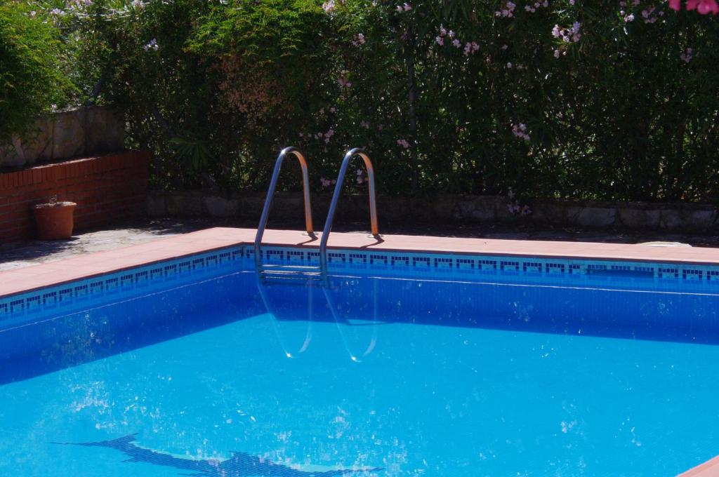 The swimming pool at or near Finca Barreras