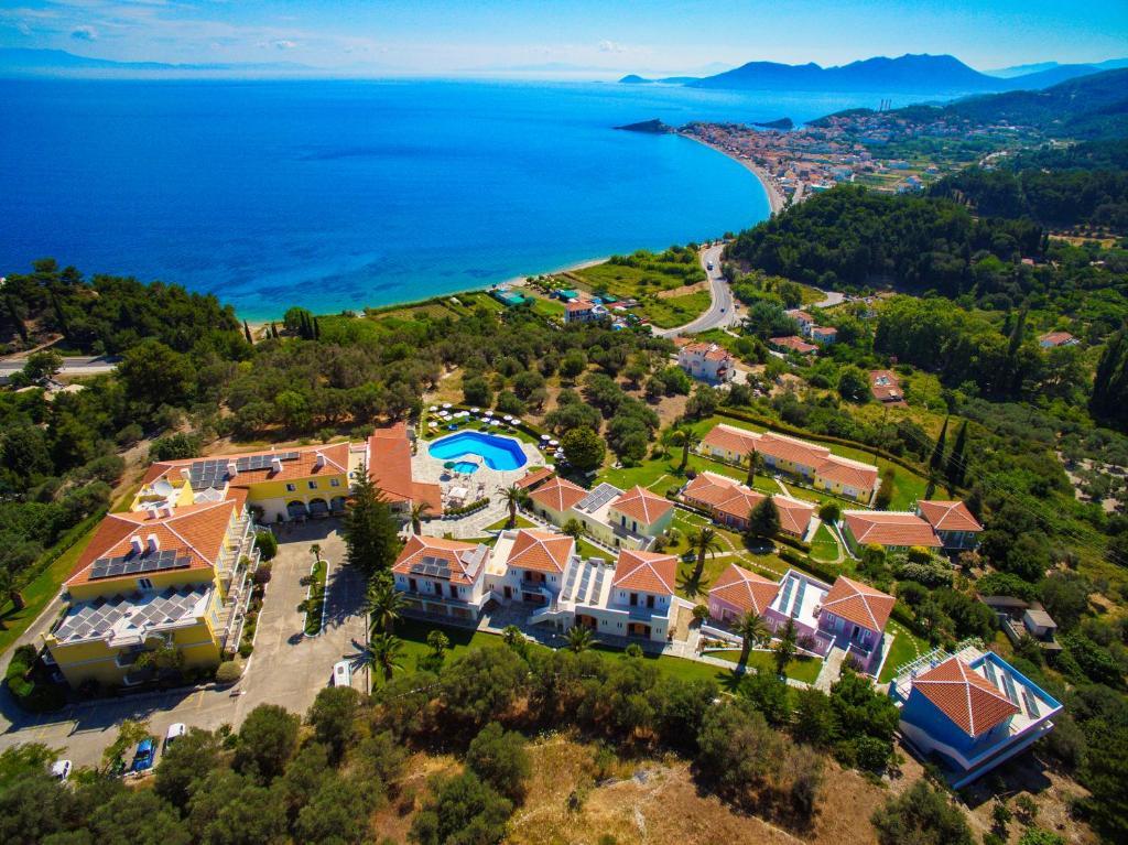 Een luchtfoto van Arion Hotel