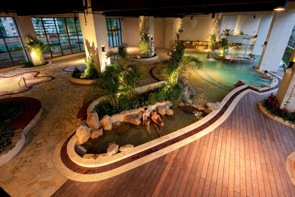 A bird's-eye view of Evergreen Resort Hotel - Jiaosi