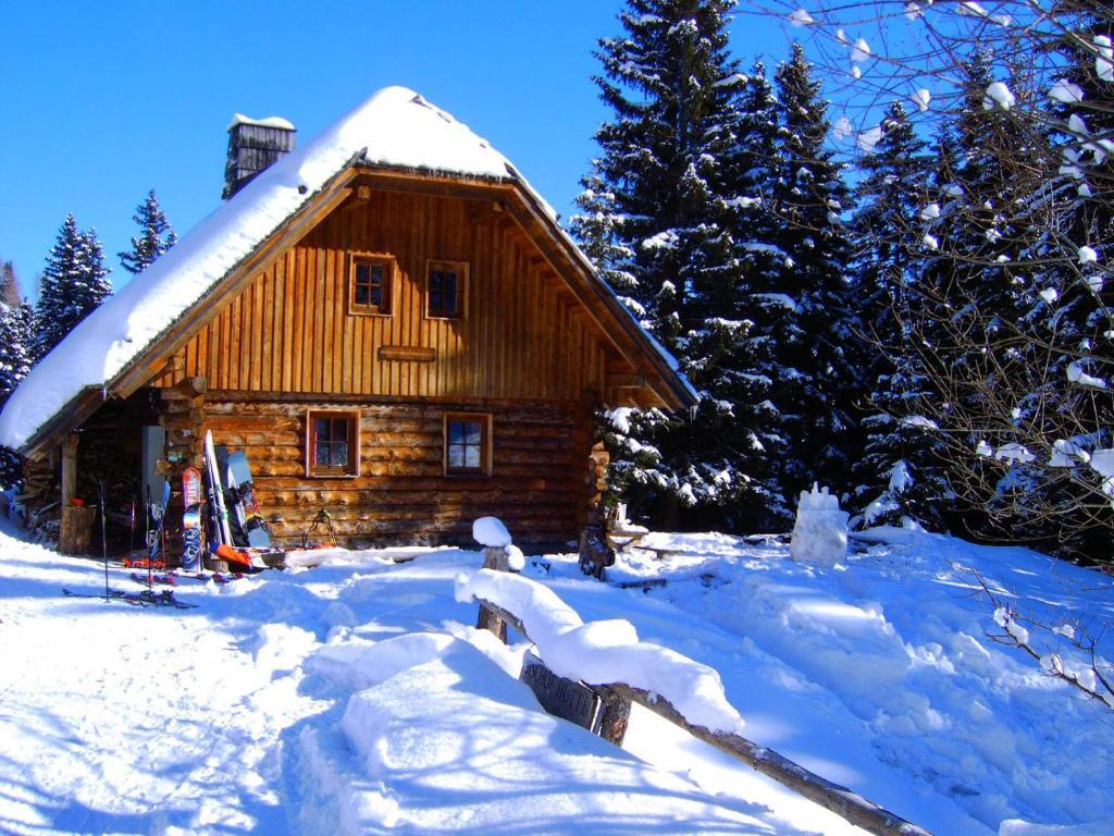 Bischofhütten during the winter