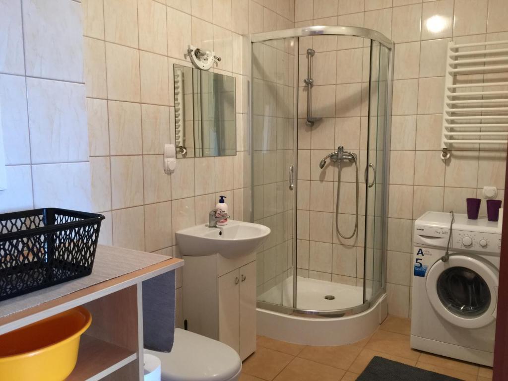 A bathroom at Kortowo