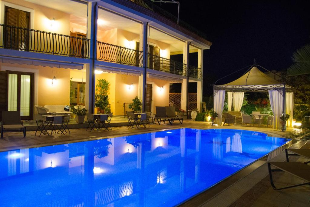 La Suite del Faro 내부 또는 인근 수영장