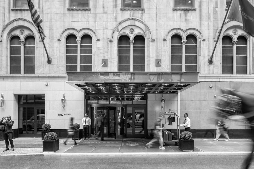 The facade or entrance of WestHouse Hotel New York