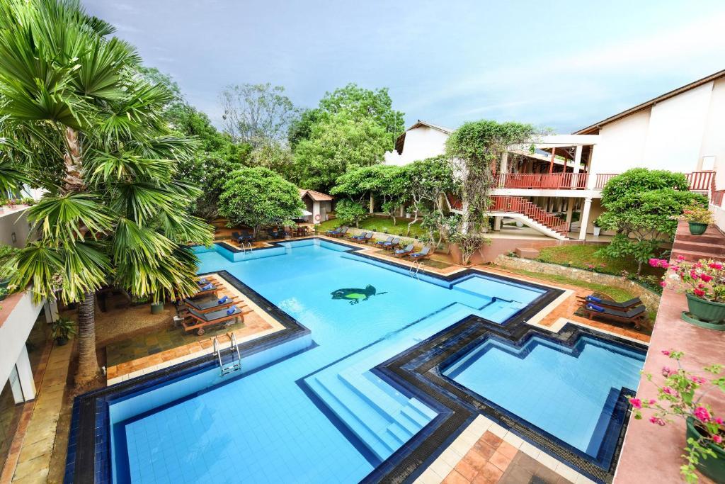 The swimming pool at or near Mandara Rosen