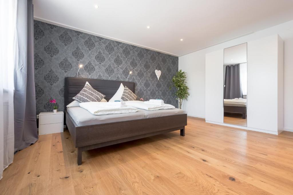 חדר ב-City Apartment Friedrichring
