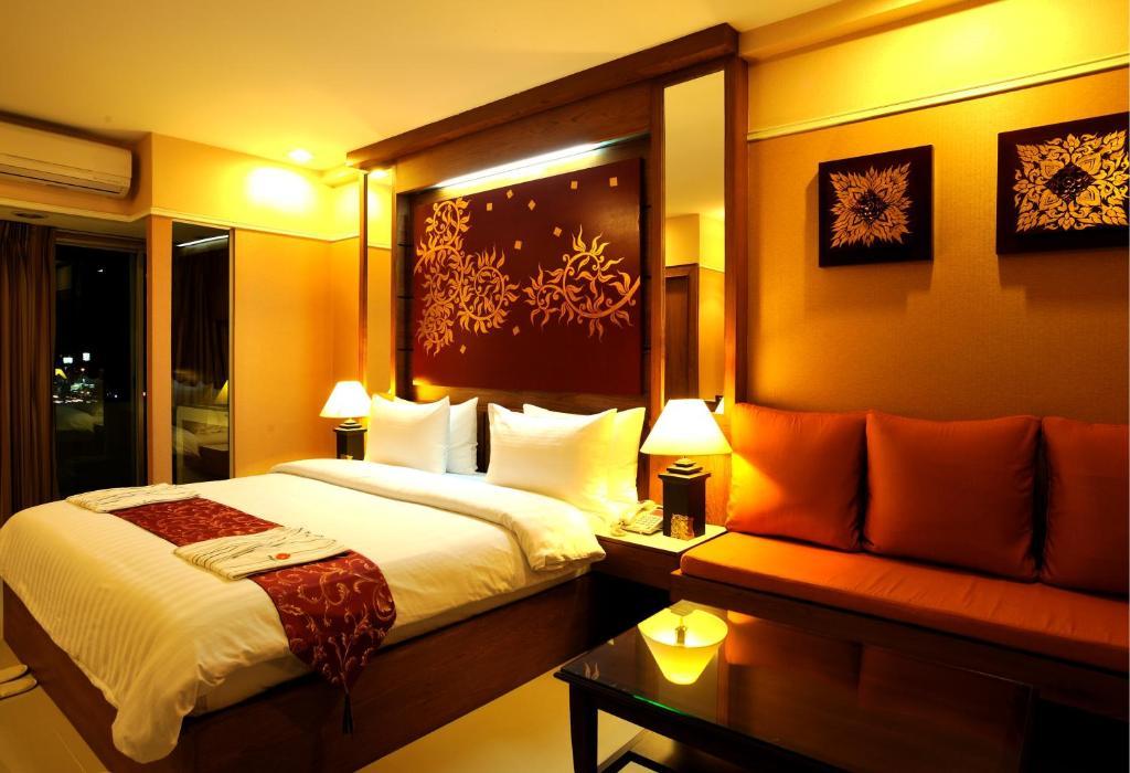 A room at Mariya Boutique Hotel At Suvarnabhumi Airport
