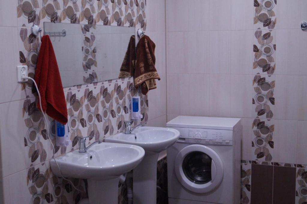 A bathroom at Hostel Voronezh