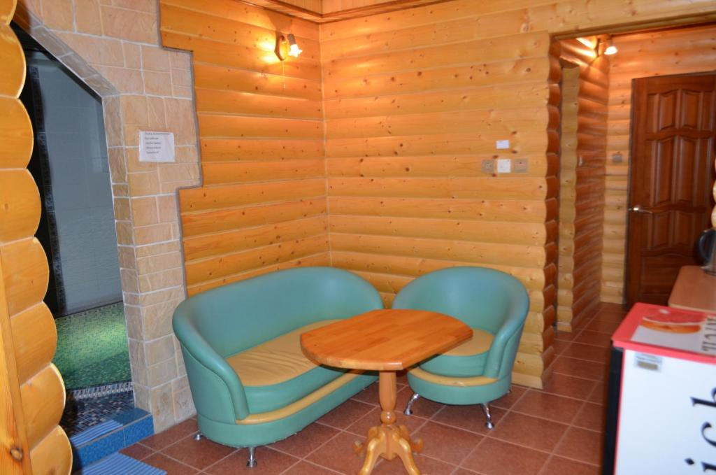 A seating area at Hostel WWW