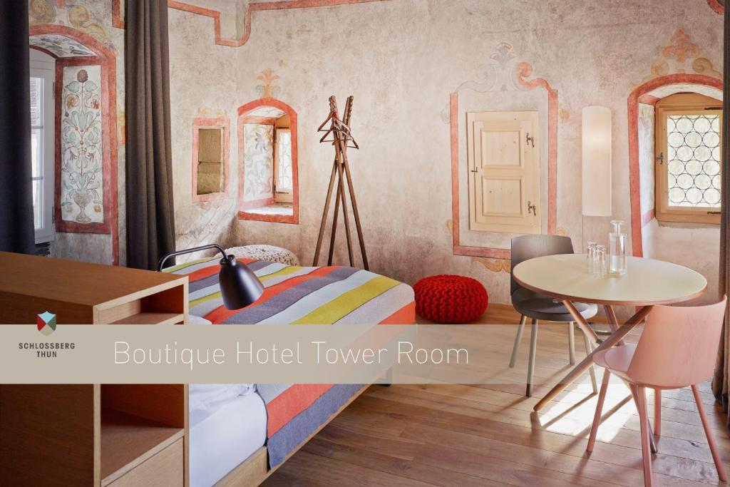 A room at Boutique Hotel Schlossberg