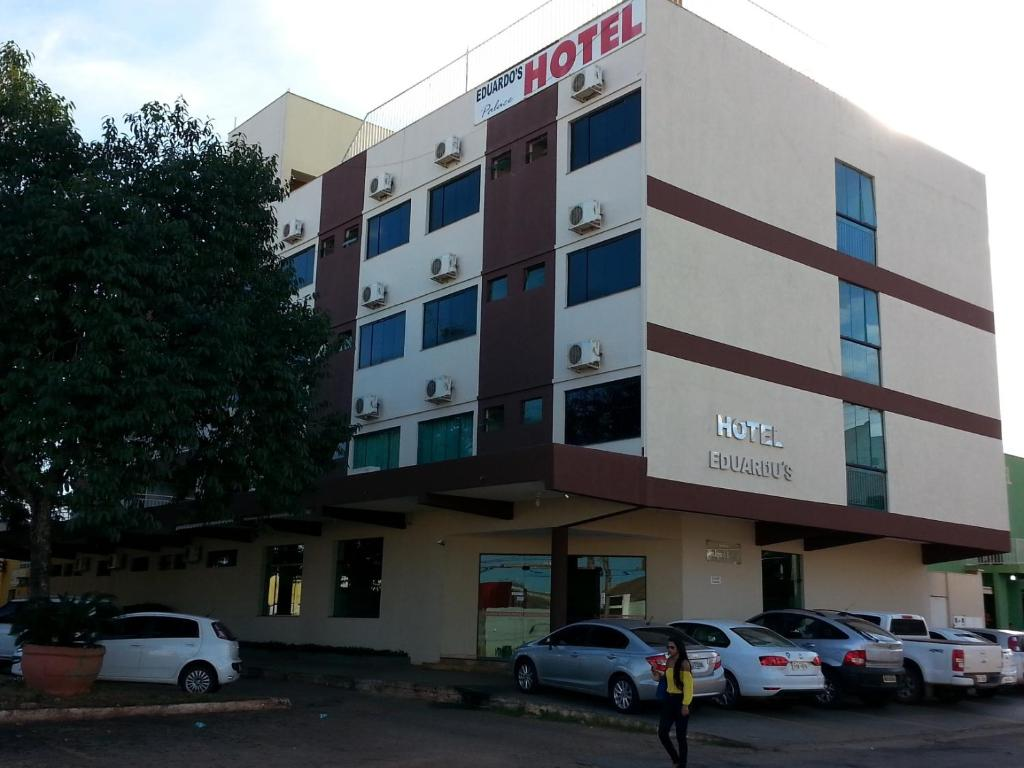 The facade or entrance of Hotel Eduardus