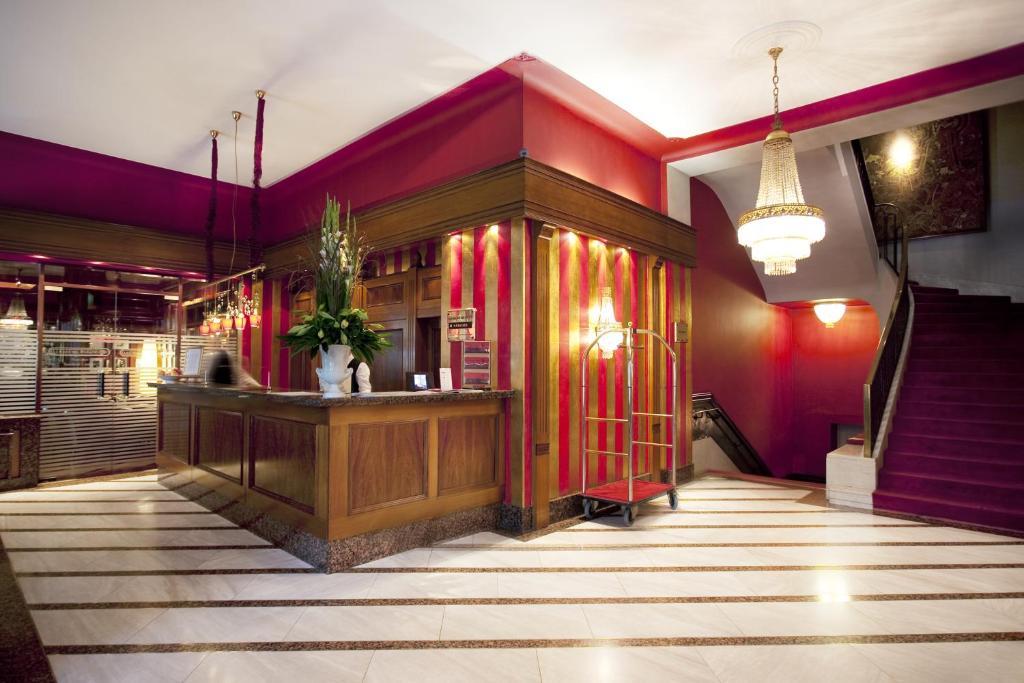 O saguão ou recepção de Savoy Berlin