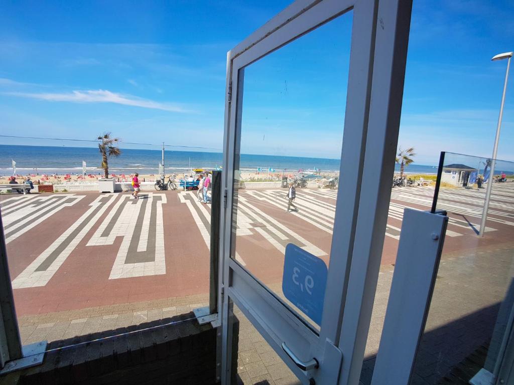 Balcon ou terrasse dans l'établissement Beach Apartments