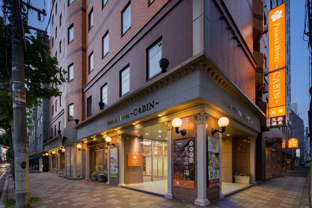 The facade or entrance of Premier Hotel-CABIN-Sapporo