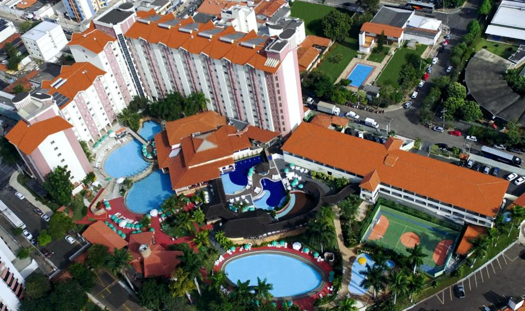 A bird's-eye view of Acqua Bella Thermas Hotel