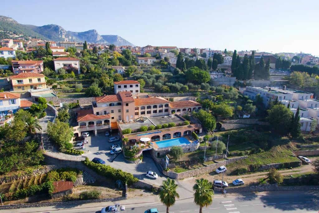 A bird's-eye view of Mas de Vence - Hotel-Restaurant