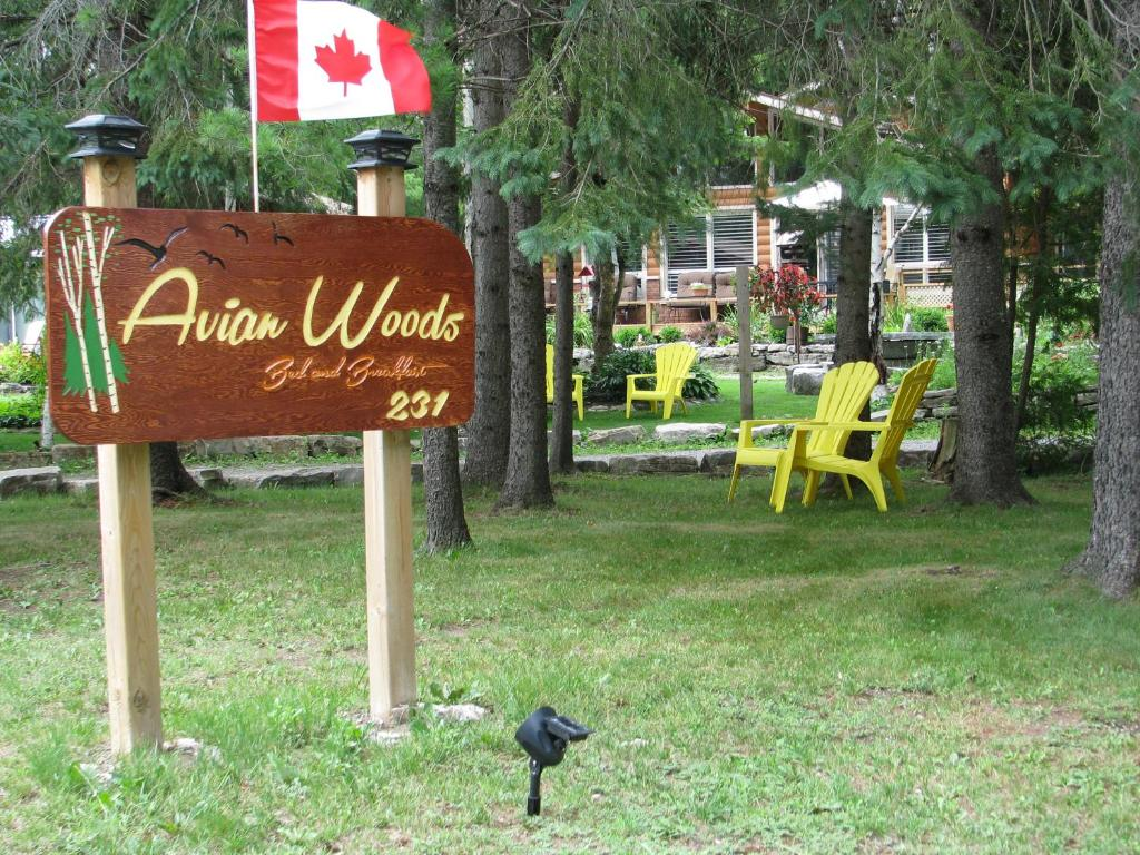 Jardín al aire libre en Avian Woods