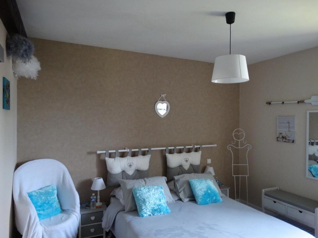A room at Chambre d'Hôtes Ty Men