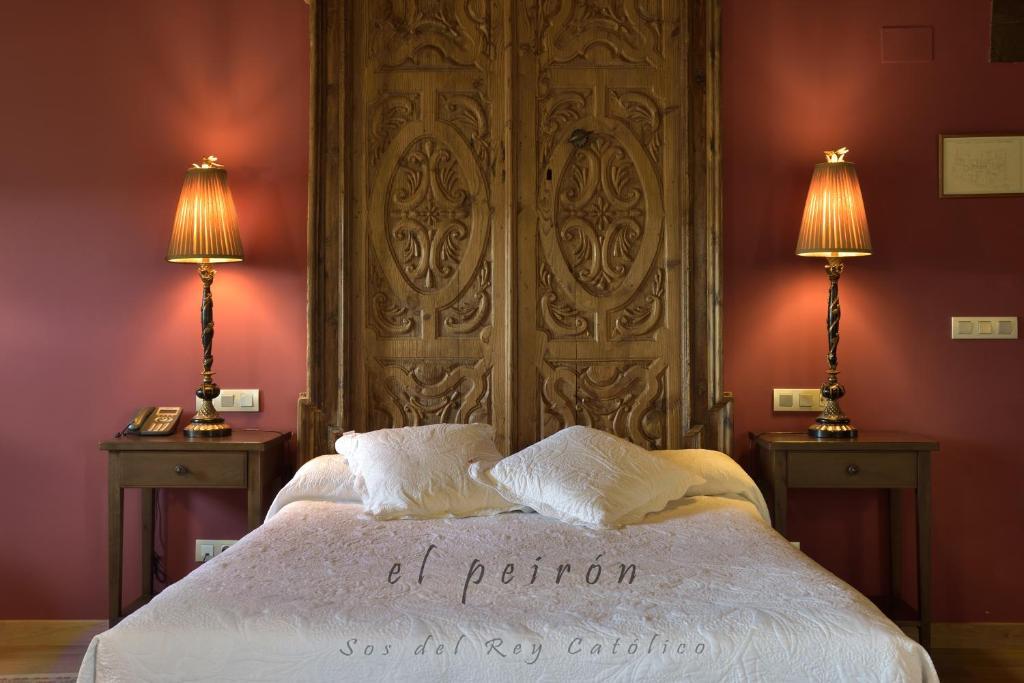Una habitación en El Peiron