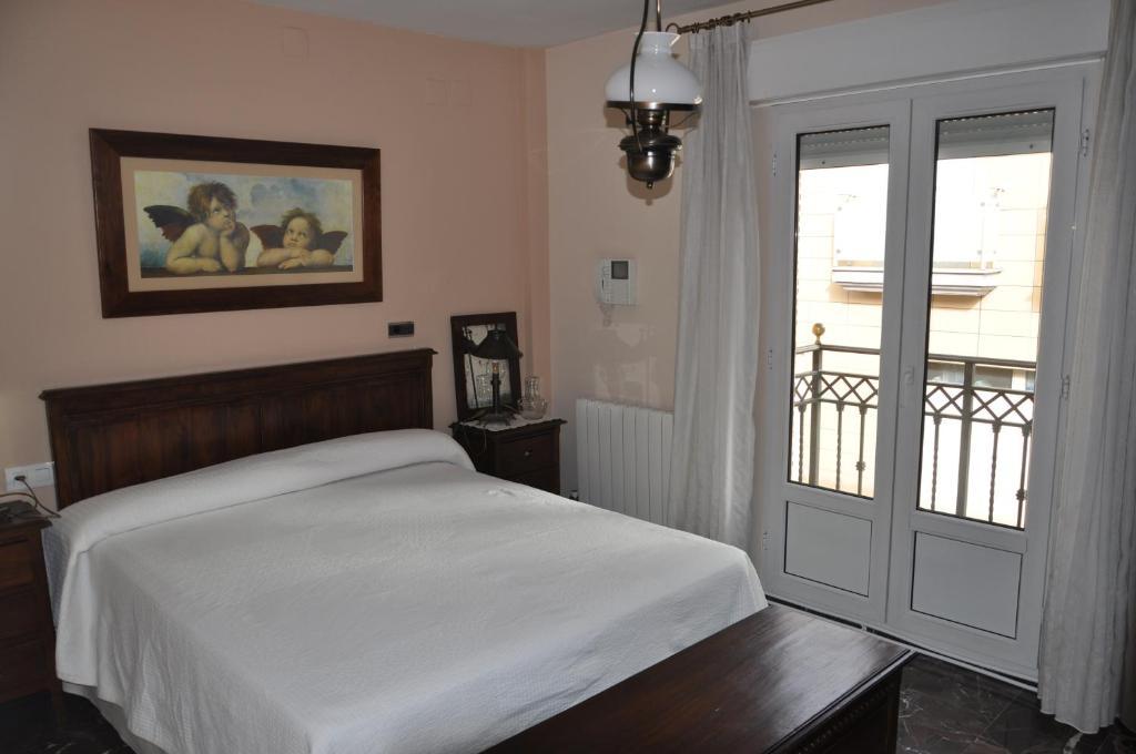 Ein Zimmer in der Unterkunft Casa del Laurel