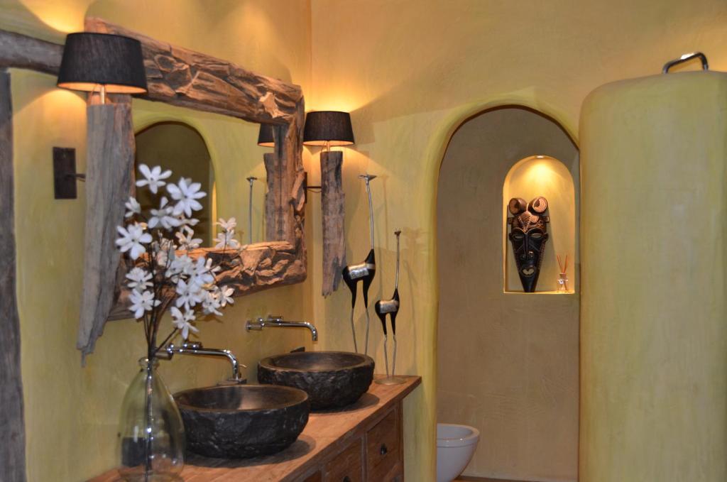 Een badkamer bij de Goedenburch