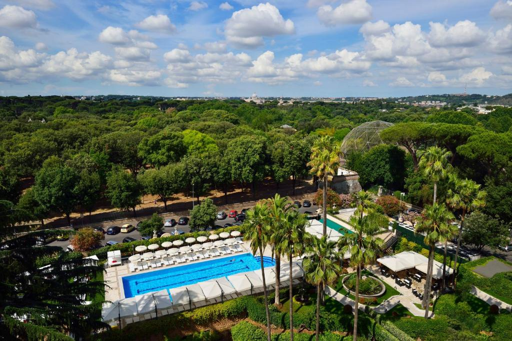 A view of the pool at Parco dei Principi Grand Hotel & SPA or nearby