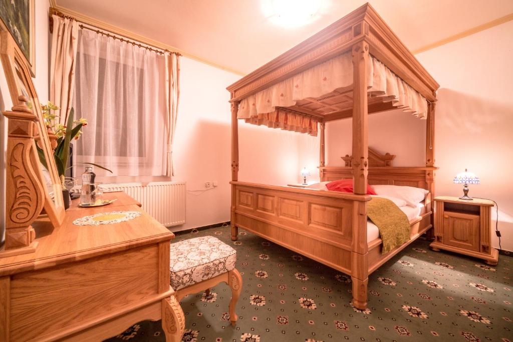A room at Hotel Diana