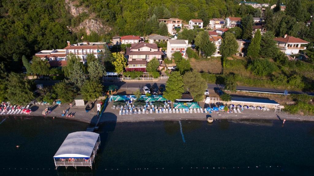 A bird's-eye view of Hotel Lagadin