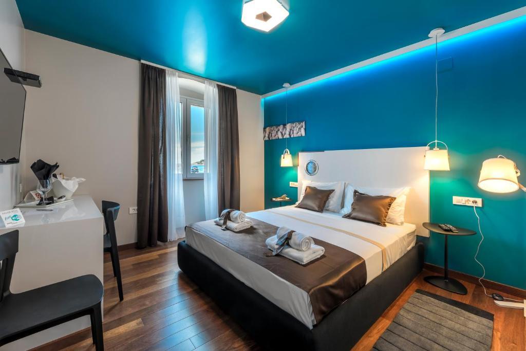 A room at Hvar Riva Rooms
