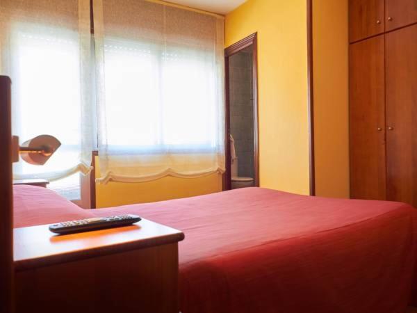 Una habitación en Pension Restaurante Sony