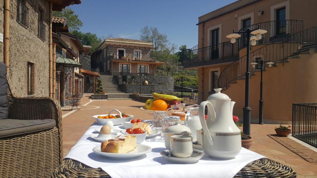 Opcions d'esmorzar disponibles a Antico Borgo Petralia