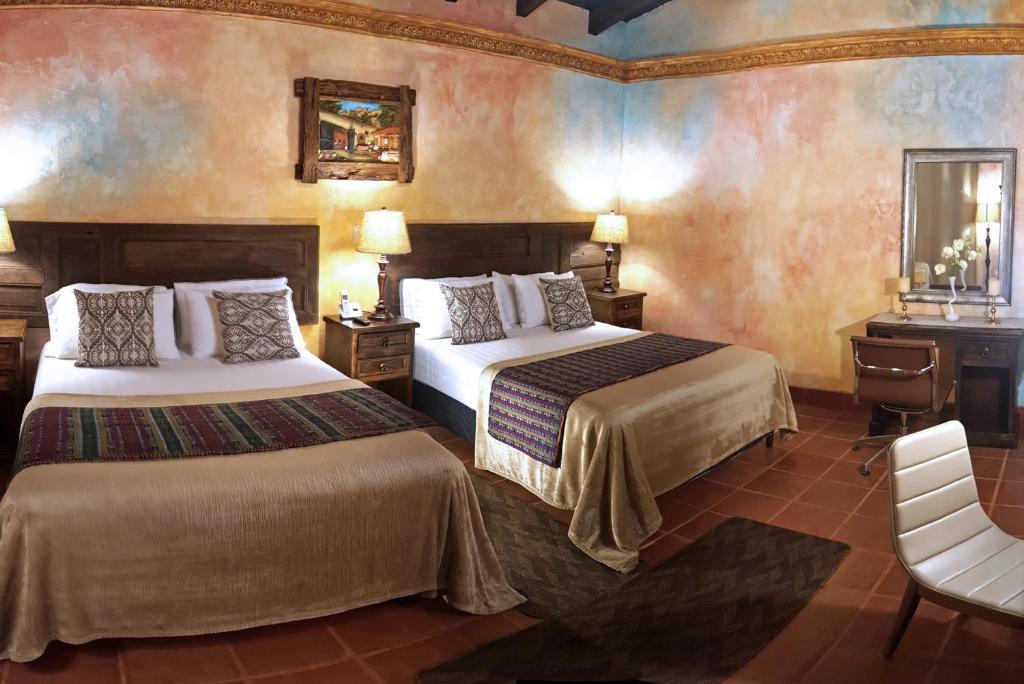 Una habitación en Hotel Eterna Primavera Antigua