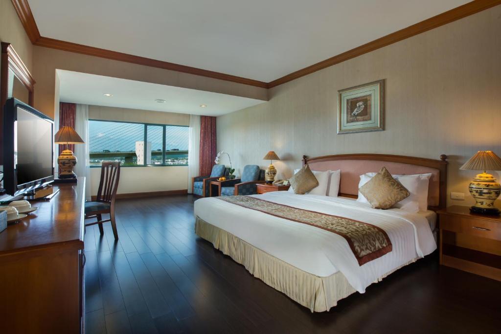 Phòng Premium Giường Đôi Nhìn Ra Biển