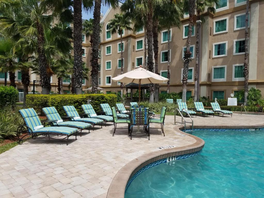 The swimming pool at or near Hawthorn Suites by Wyndham Lake Buena Vista, a staySky Hotel & Resort