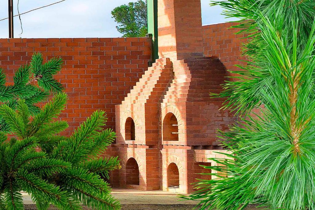 The facade or entrance of Baza otdyha Dikiy Ray