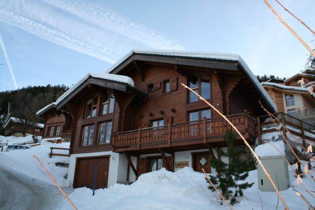 Chalet Maretse im Winter
