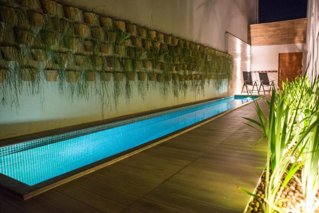 A piscina localizada em Amenit Hotel ou nos arredores