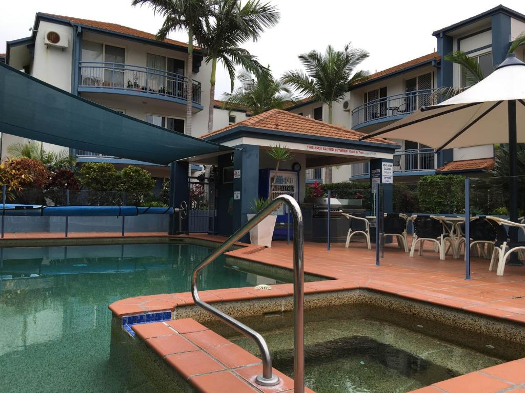 A porch or other outdoor area at Santana Resort Surfers Paradise