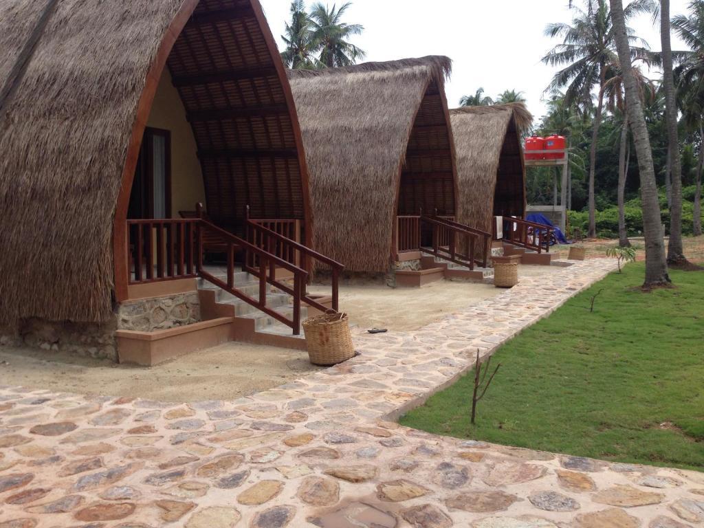Patio atau area outdoor lain di Karimun Lumbung