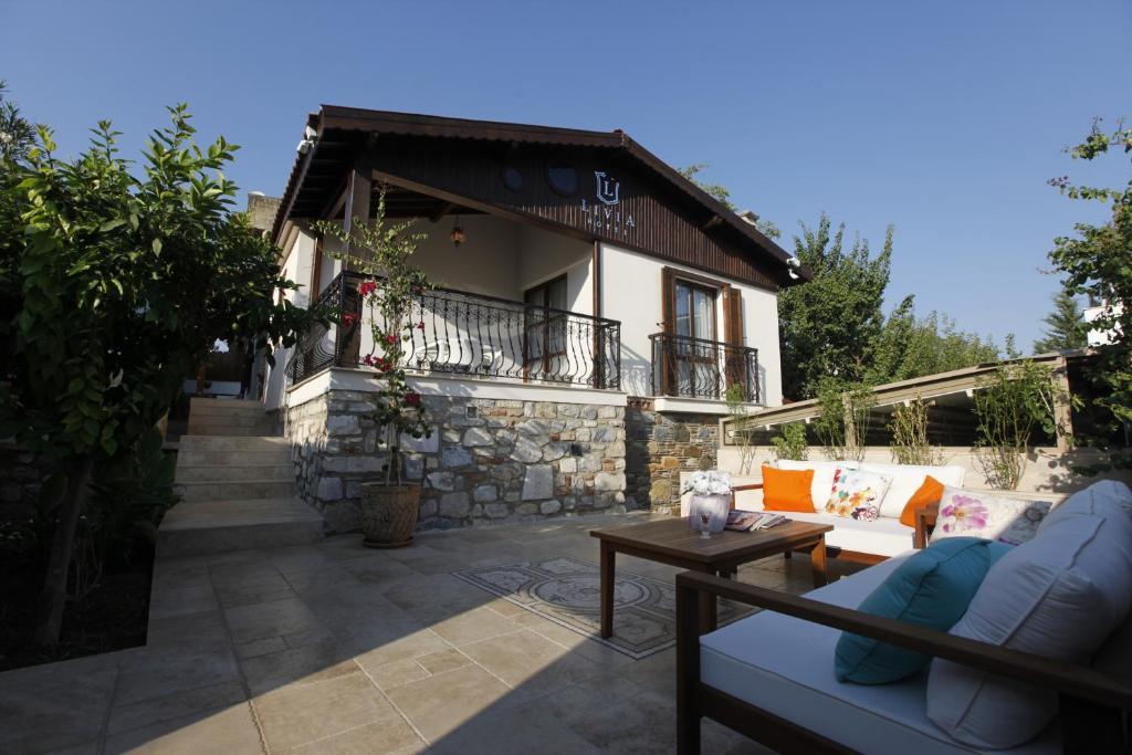 Patio o area all'aperto di Livia Hotel Ephesus