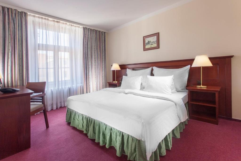 Pokoj v ubytování Hotel Lunik