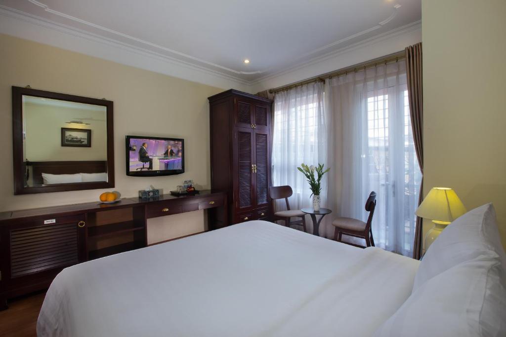 Phòng Deluxe Giường Đôi/2 Giường Đơn Có Ban Công