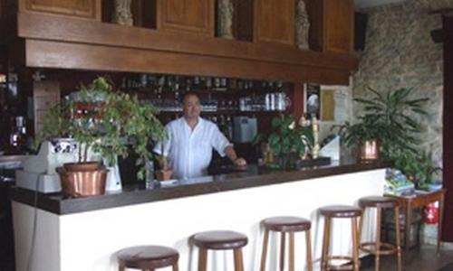 Salon ou bar de l'établissement Hostellerie De La Baie