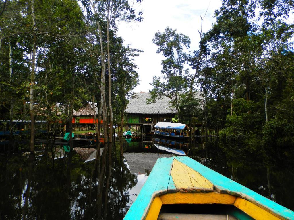 Children's play area at Amazon Eco Tours & Lodge