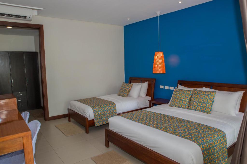 A room at Karancho Beach House