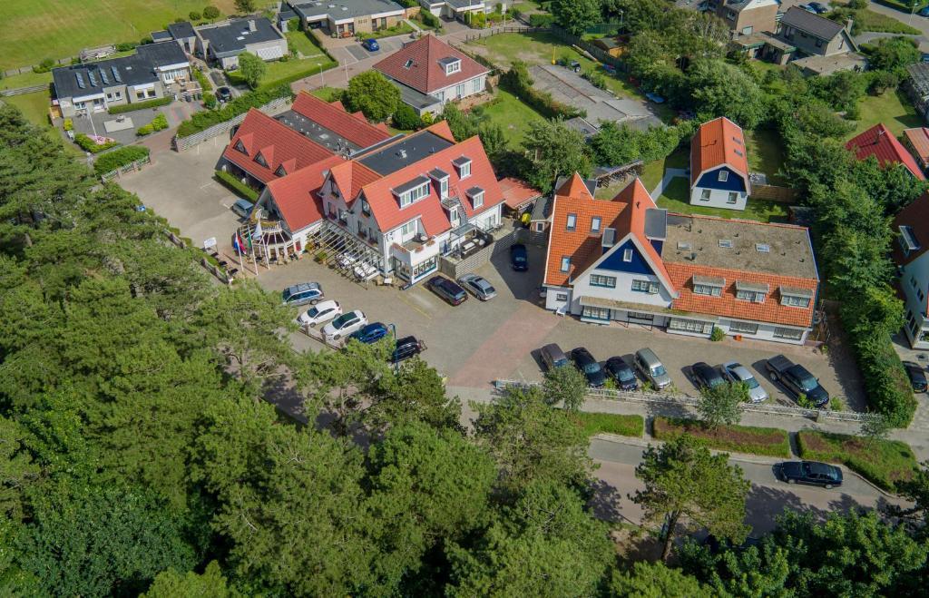 Een luchtfoto van Het Uilenbos