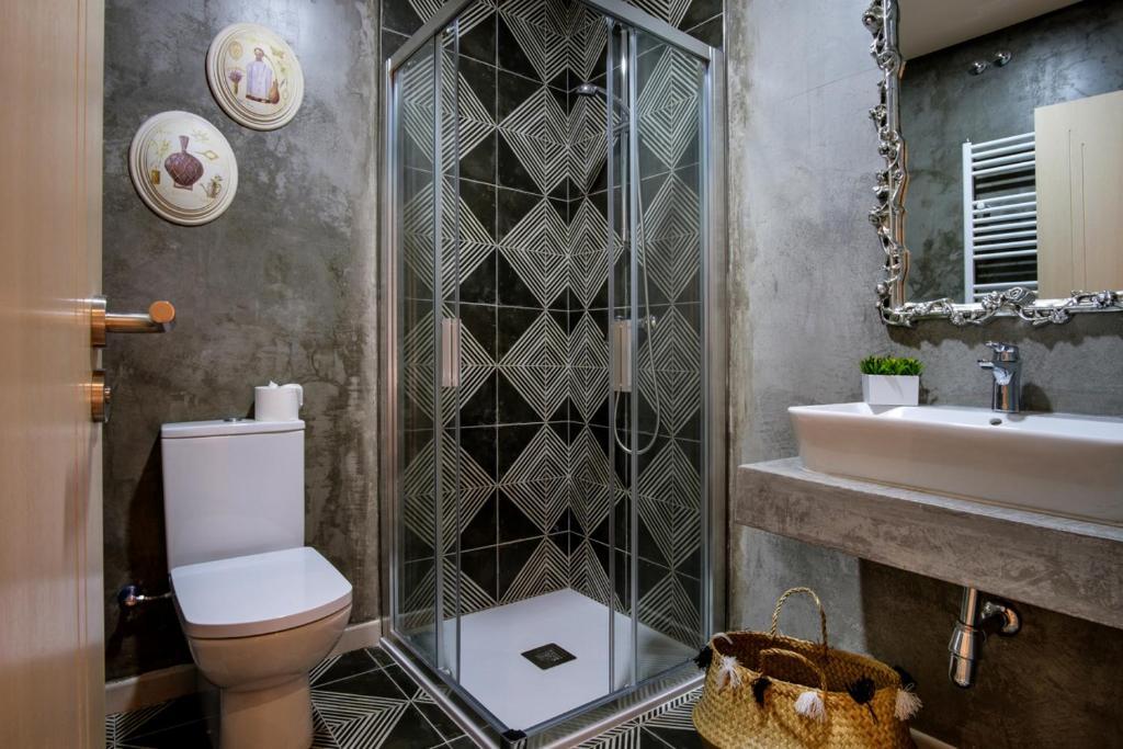 Un baño de La Casona de Nené