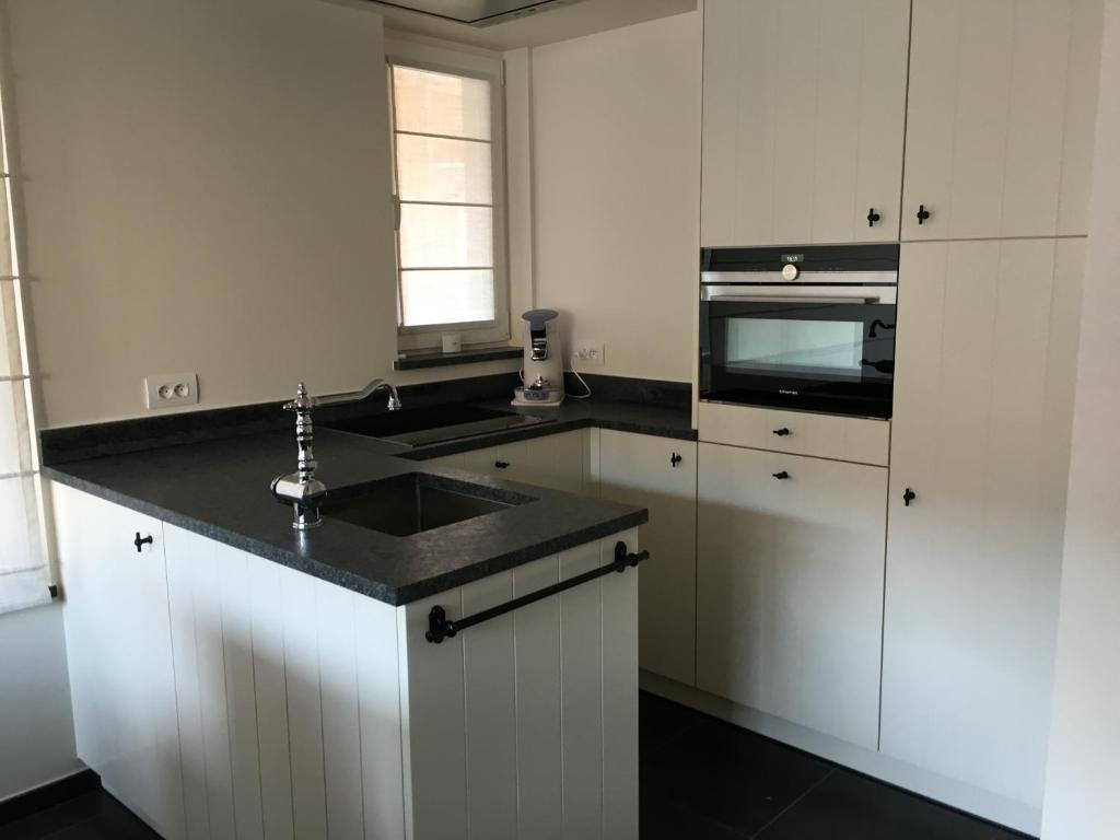 A kitchen or kitchenette at Merida